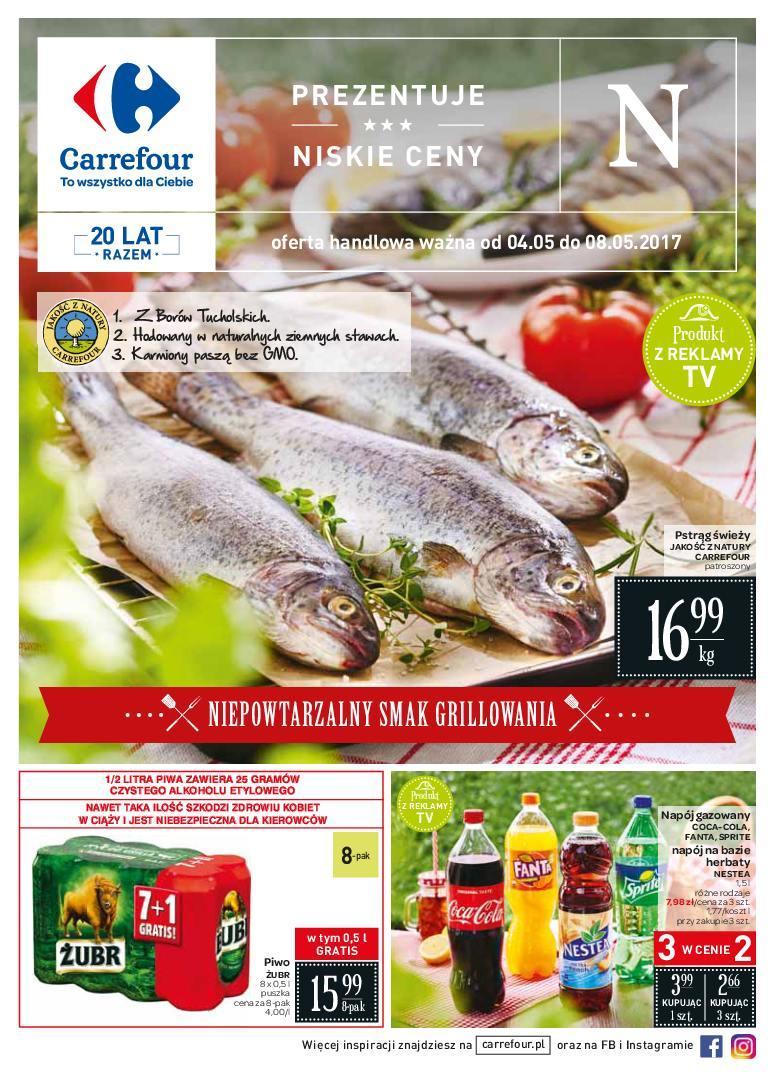 Gazetka promocyjna Carrefour do 08/05/2017 str.0