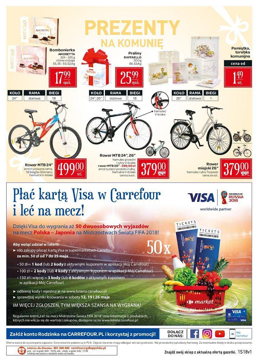 Gazetka promocyjna Carrefour Market do 12/05/2018 str.11