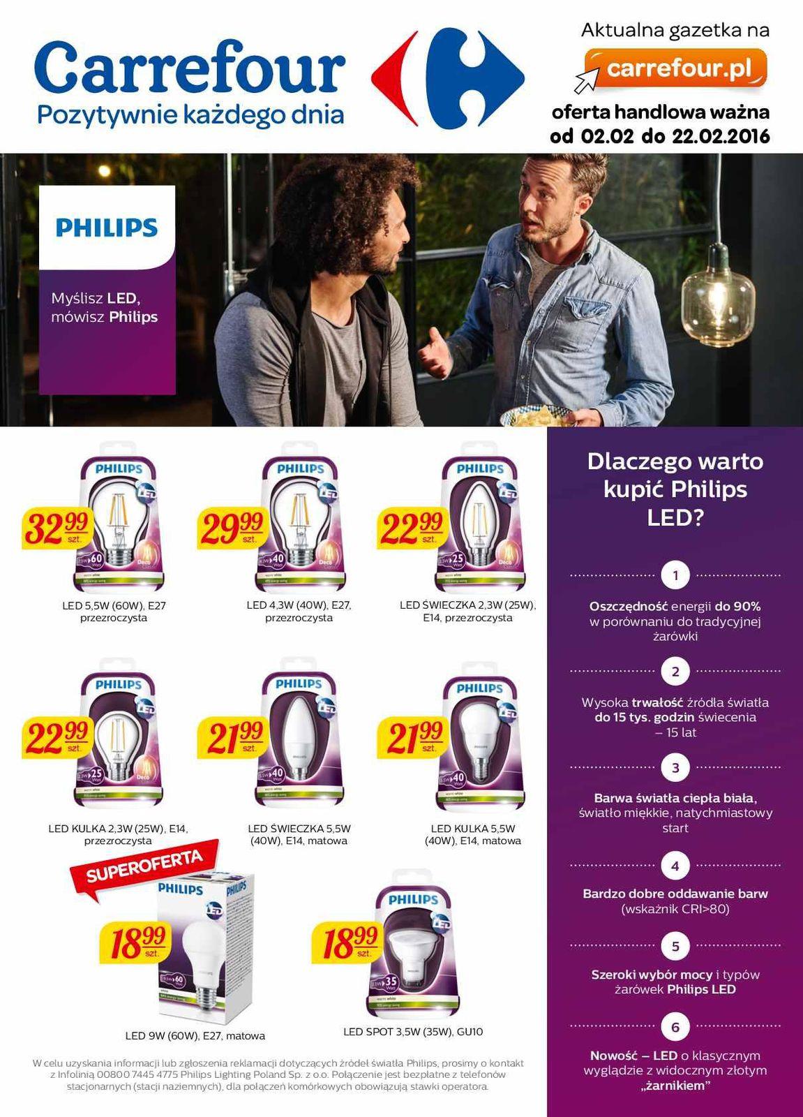 269ee8d49d8da Gazetka promocyjna i reklamowa Carrefour,