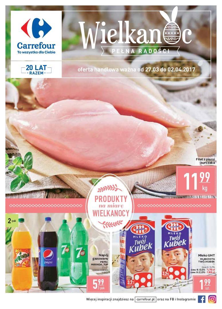 Gazetka promocyjna Carrefour do 02/04/2017 str.0