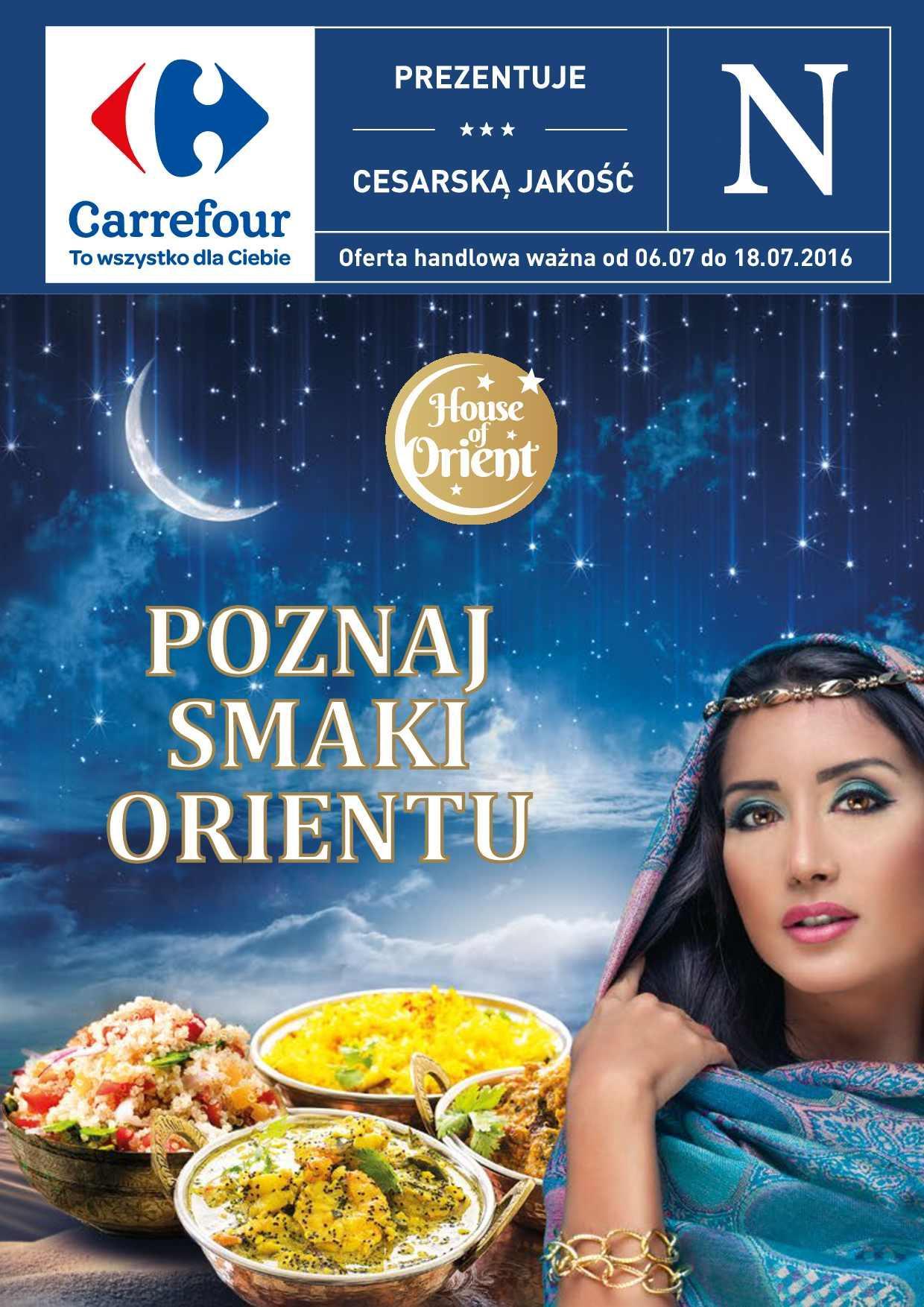 Gazetka promocyjna Carrefour do 18/07/2016 str.0