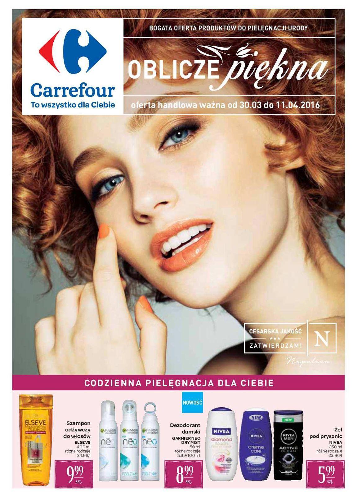 Gazetka promocyjna Carrefour do 11/04/2016 str.0