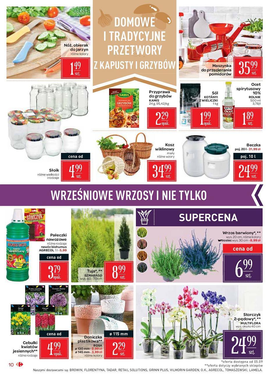 Gazetka promocyjna Carrefour Market do 15/09/2018 str.10