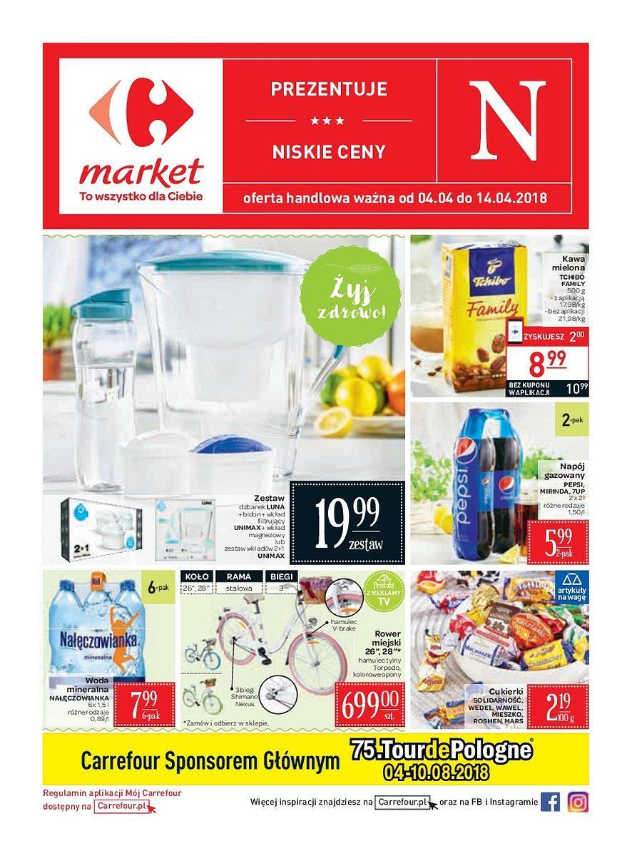 Gazetka promocyjna Carrefour Market do 14/04/2018 str.0