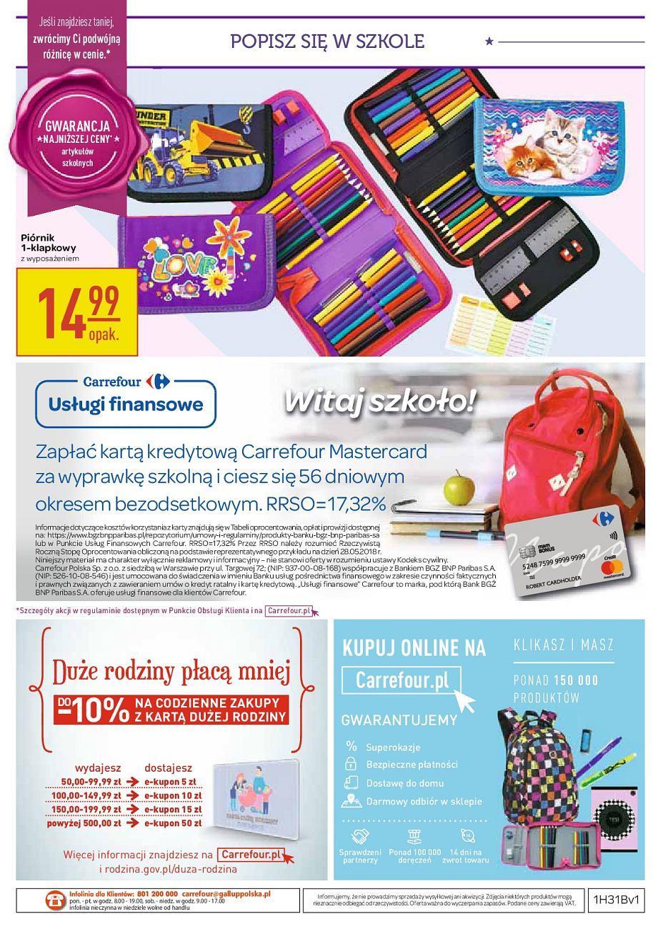 Gazetka promocyjna Carrefour do 11/08/2018 str.20
