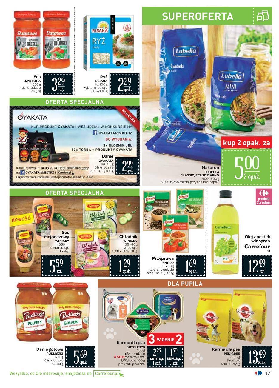 Gazetka promocyjna Carrefour do 18/08/2018 str.16