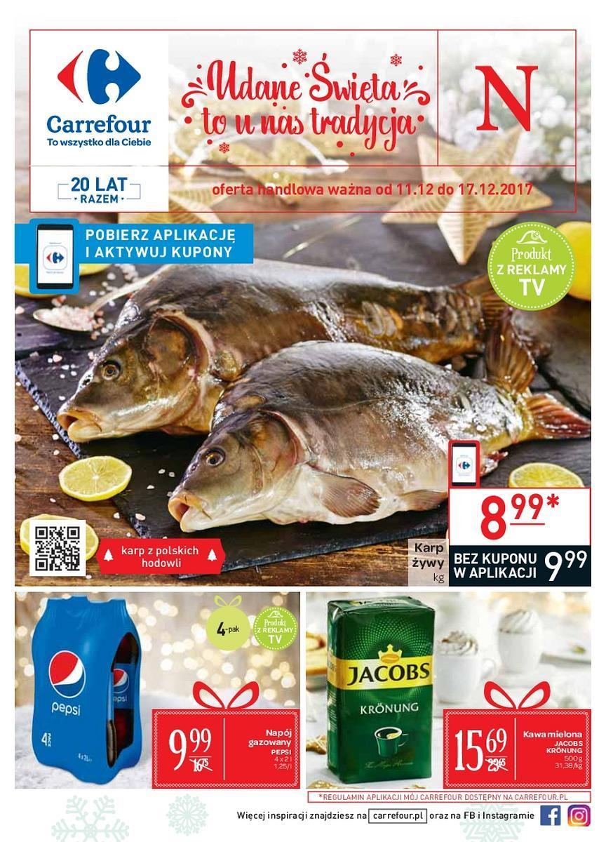 Gazetka promocyjna Carrefour do 17/12/2017 str.0