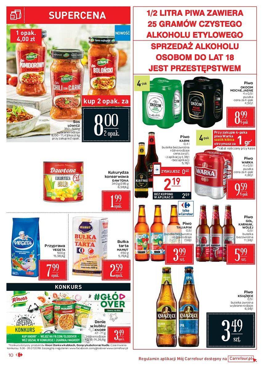 Gazetka promocyjna Carrefour Market do 09/06/2018 str.9