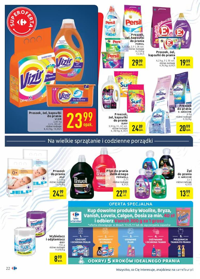 Gazetka promocyjna Carrefour do 25/11/2018 str.22