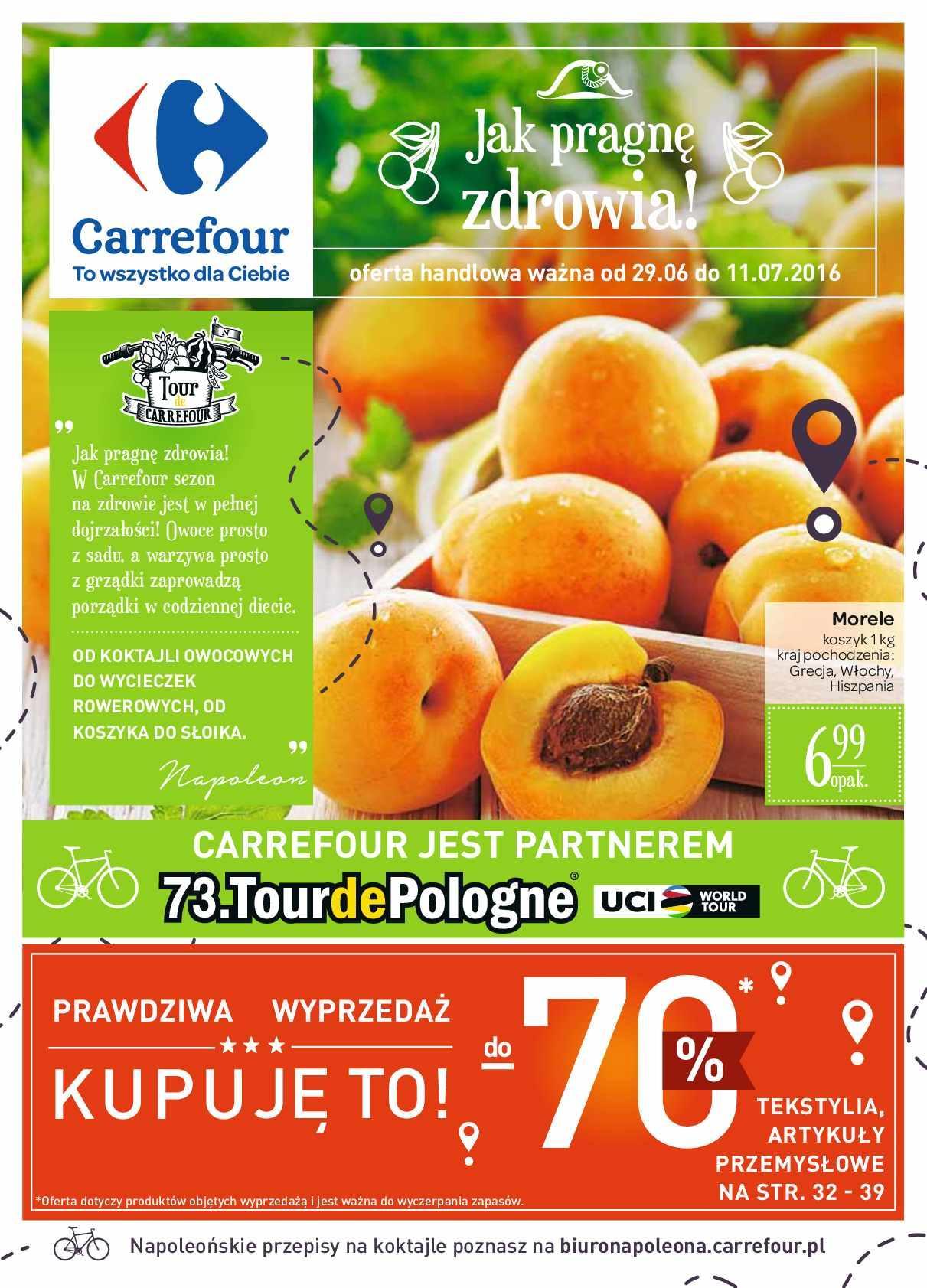 Gazetka promocyjna Carrefour do 11/07/2016 str.0