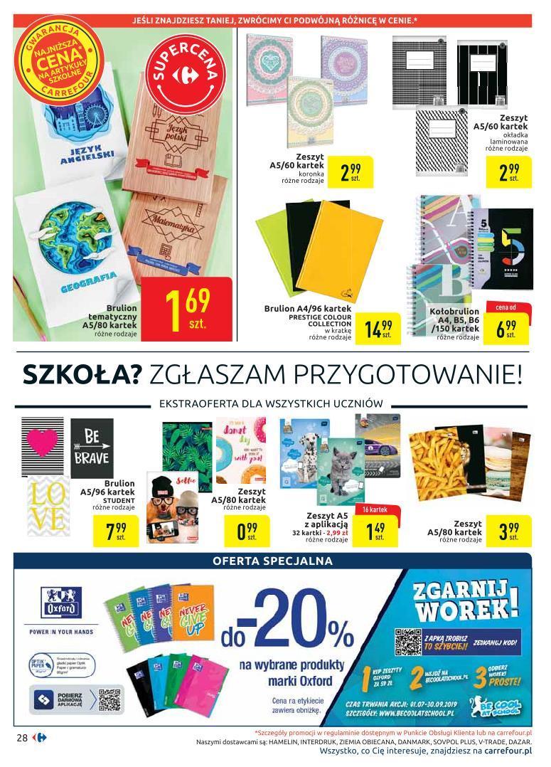 Gazetka promocyjna Carrefour do 19/08/2019 str.27