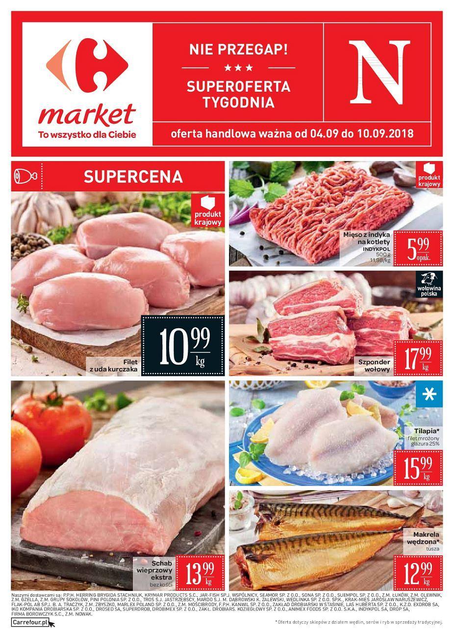 Gazetka promocyjna Carrefour Market do 10/09/2018 str.0