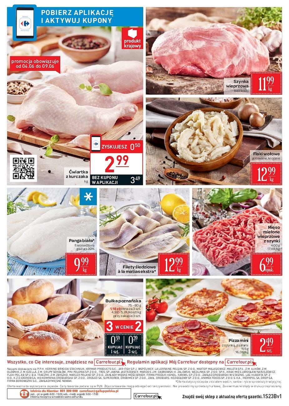 Gazetka promocyjna Carrefour Market do 11/06/2018 str.1