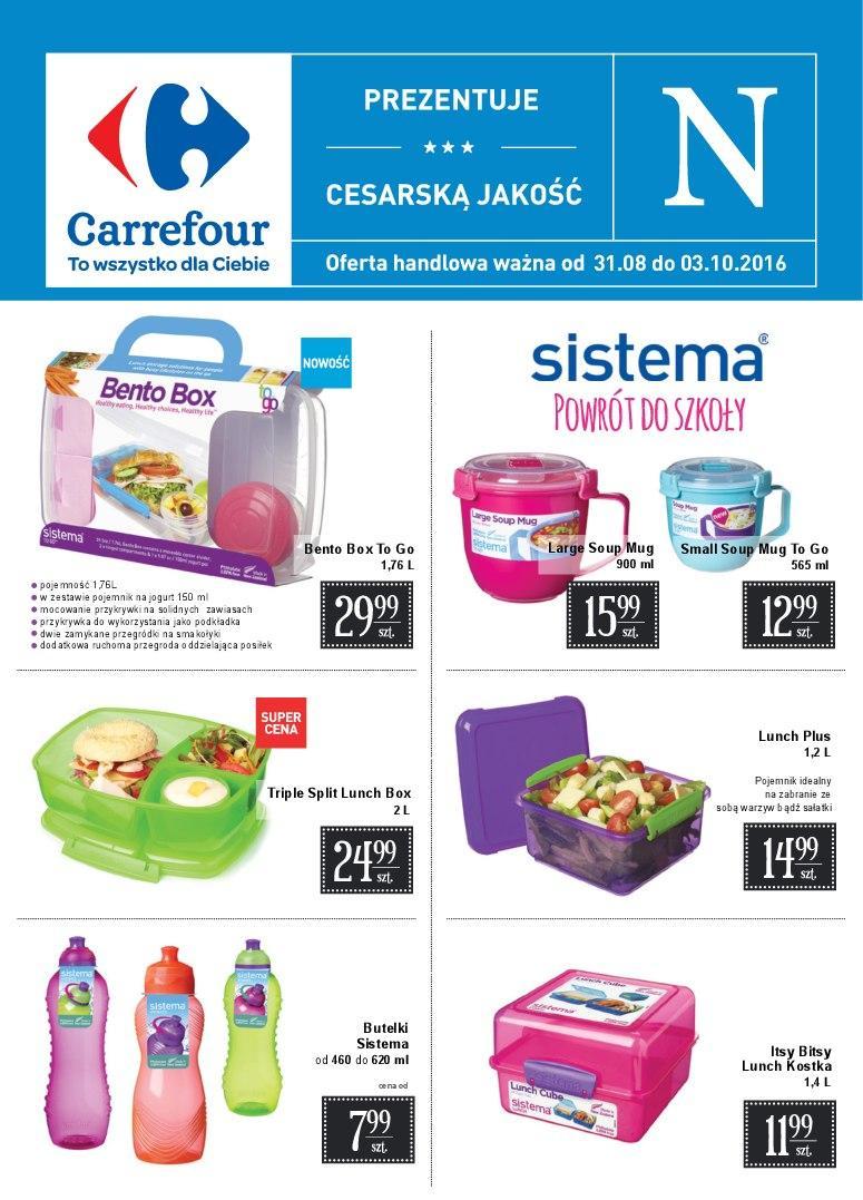 Gazetka promocyjna Carrefour do 03/09/2016 str.0