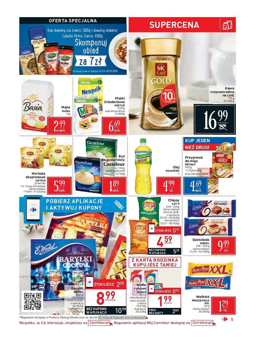 Gazetka promocyjna Carrefour Market do 14/04/2018 str.4