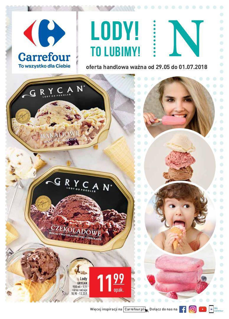 Gazetka promocyjna Carrefour do 01/07/2018 str.1