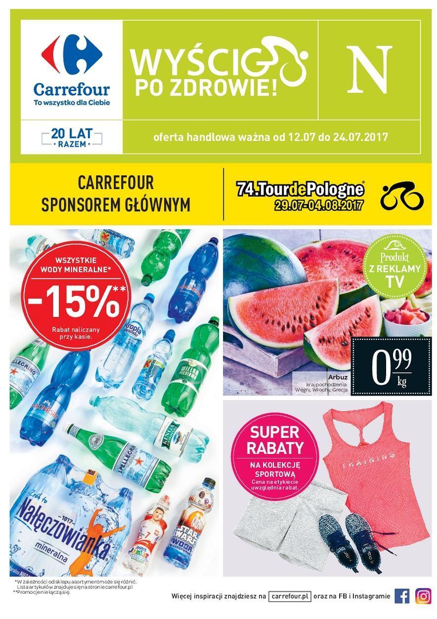 Gazetka promocyjna Carrefour do 24/07/2017 str.0