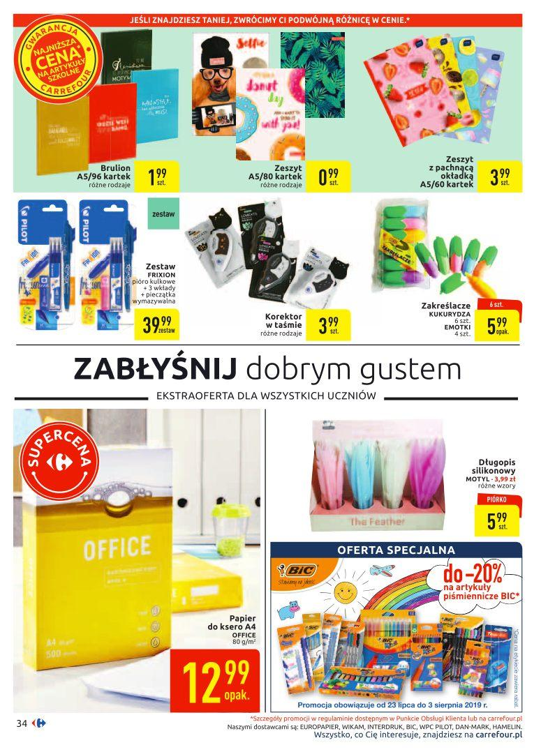Gazetka promocyjna Carrefour do 03/08/2019 str.33
