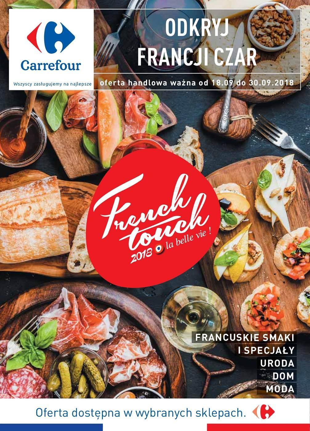 Gazetka promocyjna Carrefour do 30/09/2018 str.1