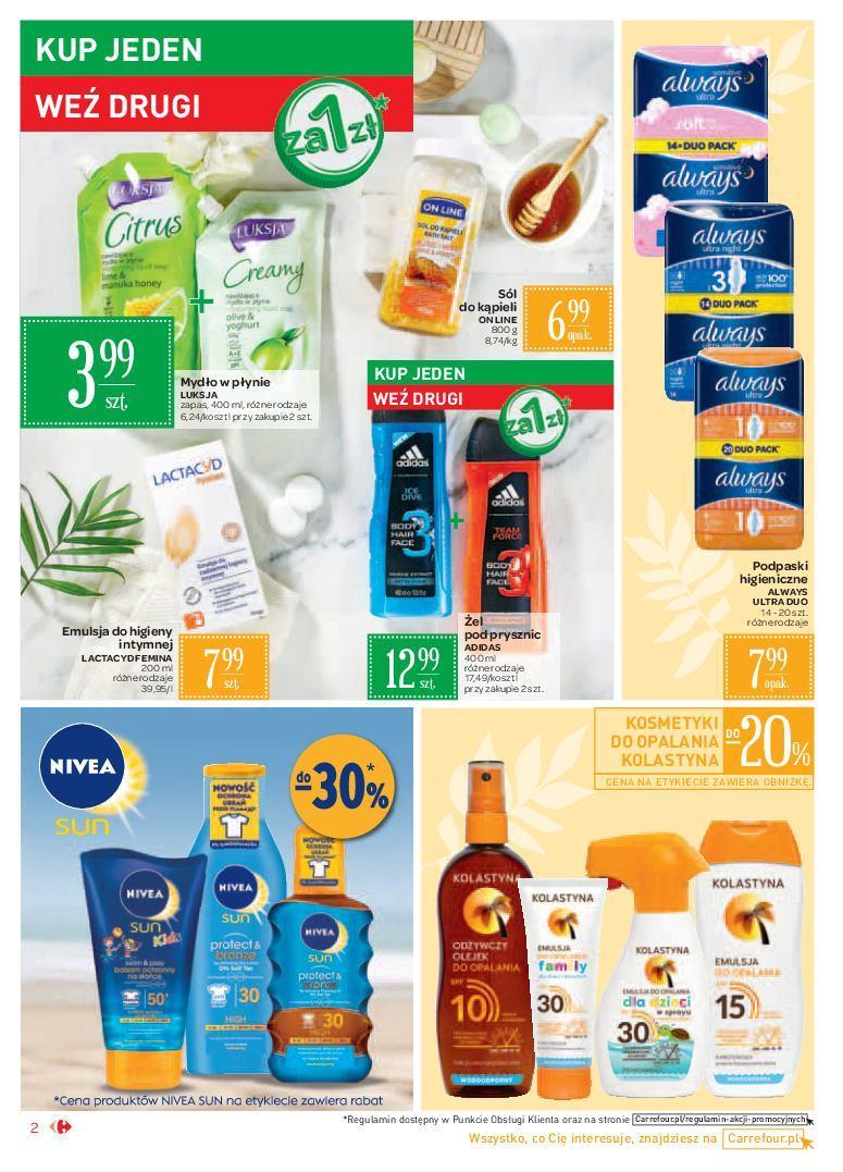 Gazetka promocyjna Carrefour Market do 24/06/2018 str.1