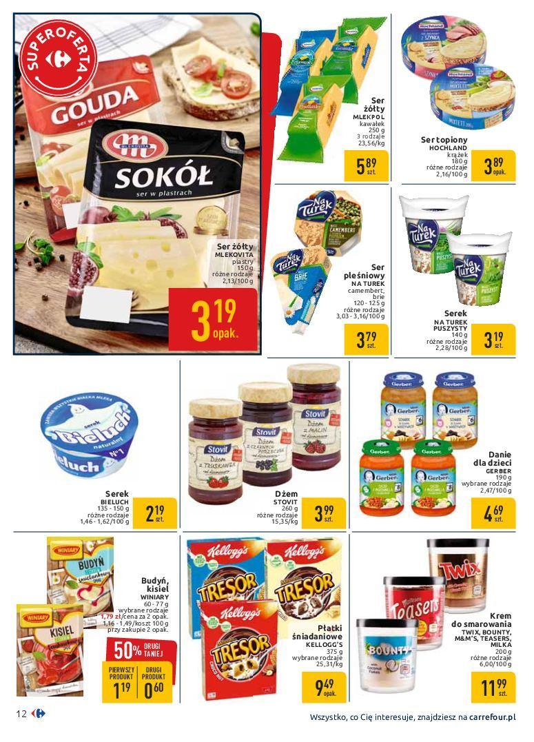 Gazetka promocyjna Carrefour do 19/01/2019 str.12
