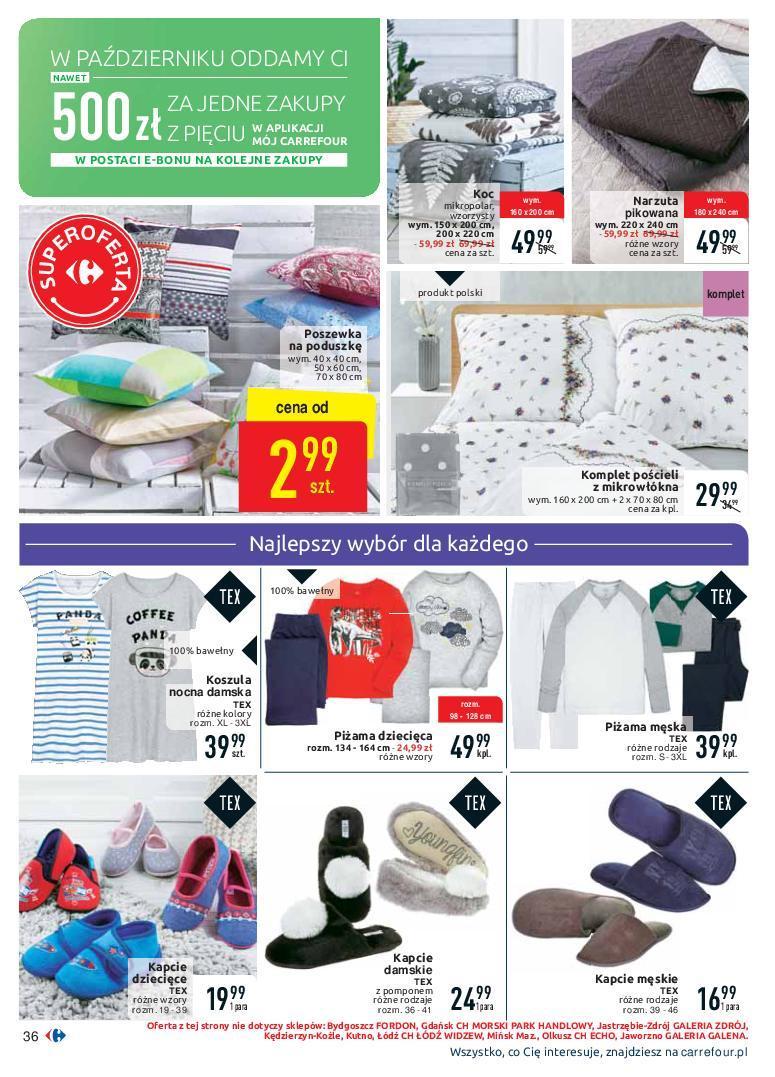 Gazetka promocyjna Carrefour do 07/10/2018 str.36