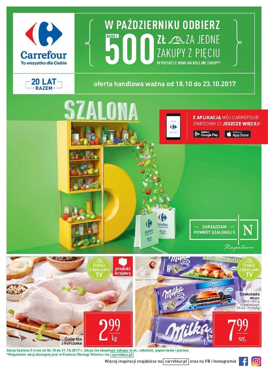Gazetka promocyjna Carrefour do 23/10/2017 str.0