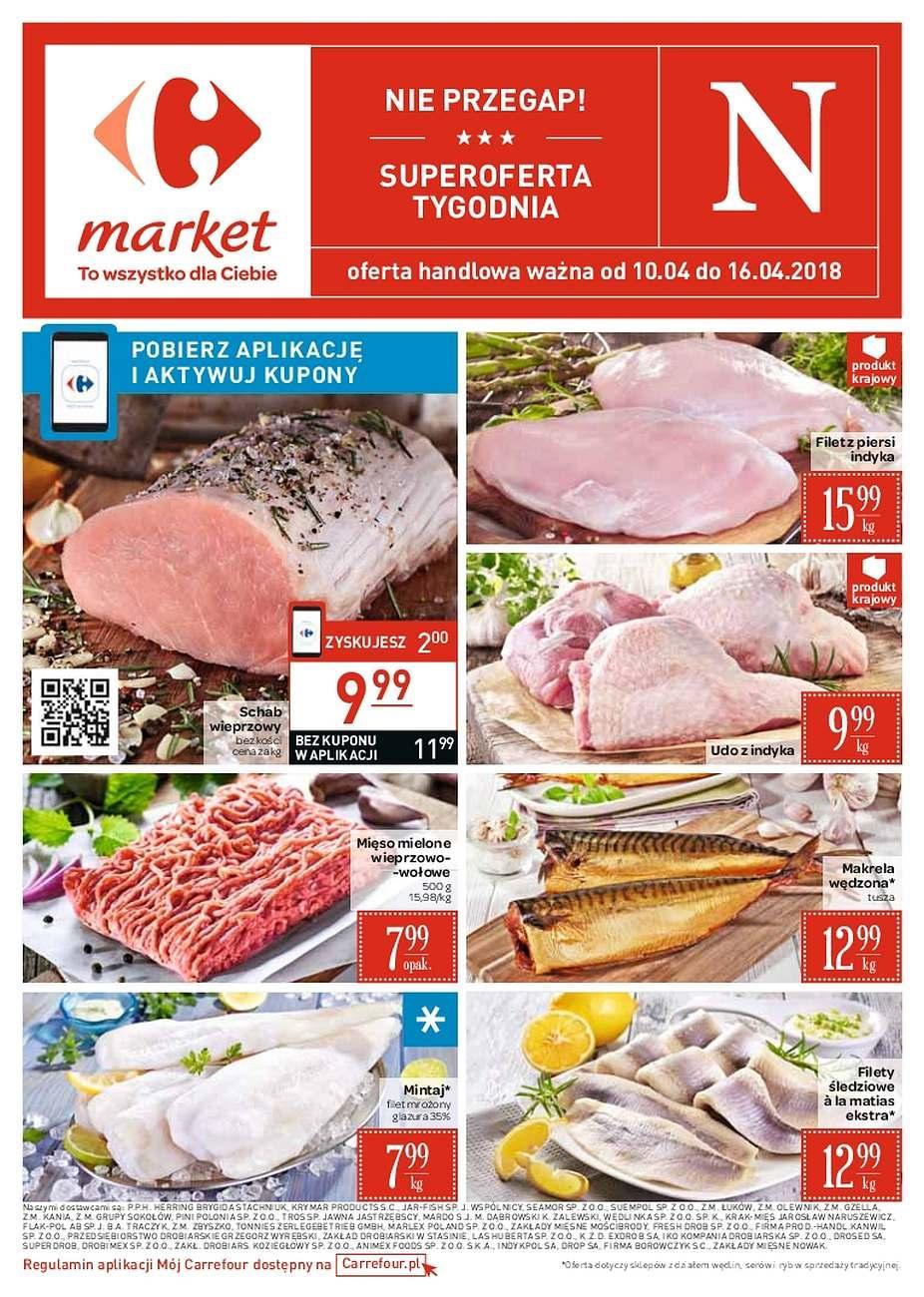 Gazetka promocyjna Carrefour Market do 16/04/2018 str.0