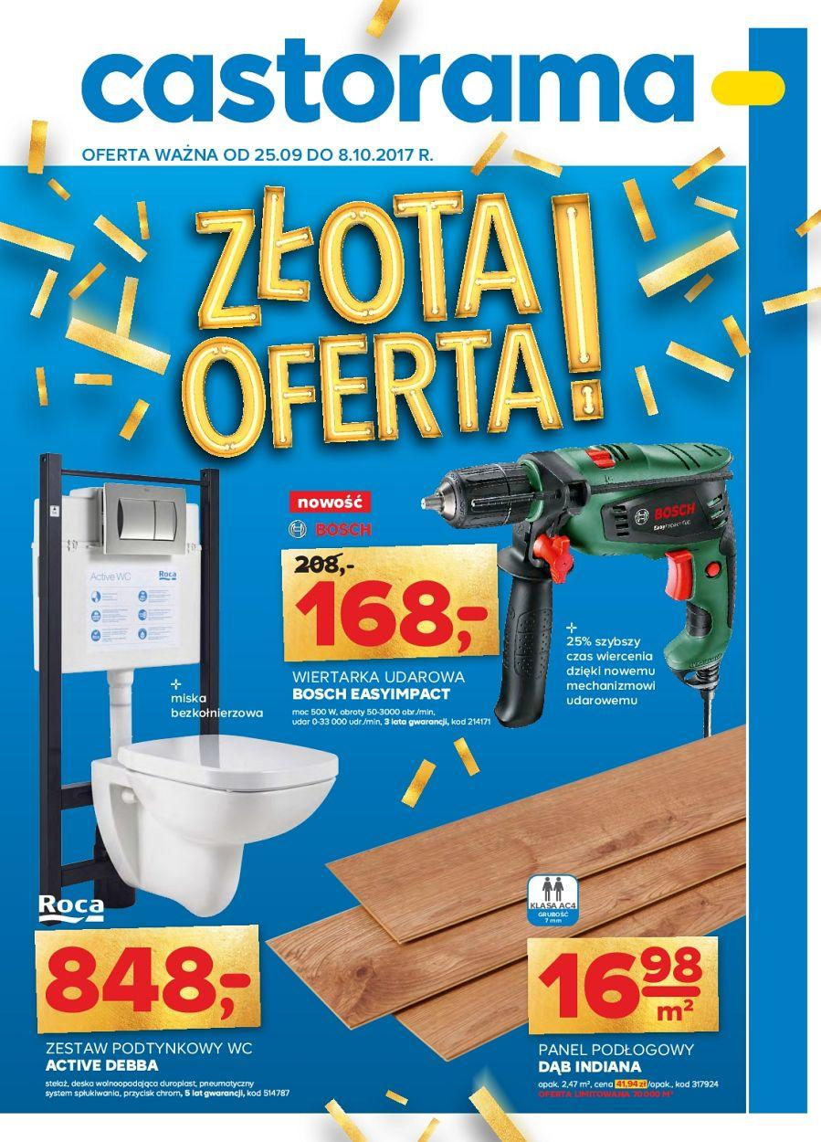 Gazetka promocyjna Castorama do 08/10/2017 str.0