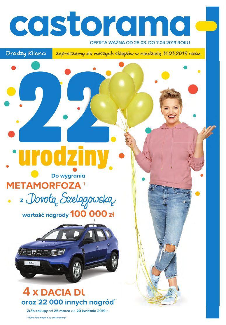 Gazetka promocyjna Castorama do 07/04/2019 str.0