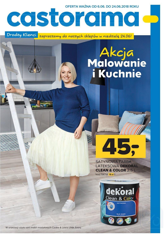 Gazetka promocyjna Castorama do 24/06/2018 str.1