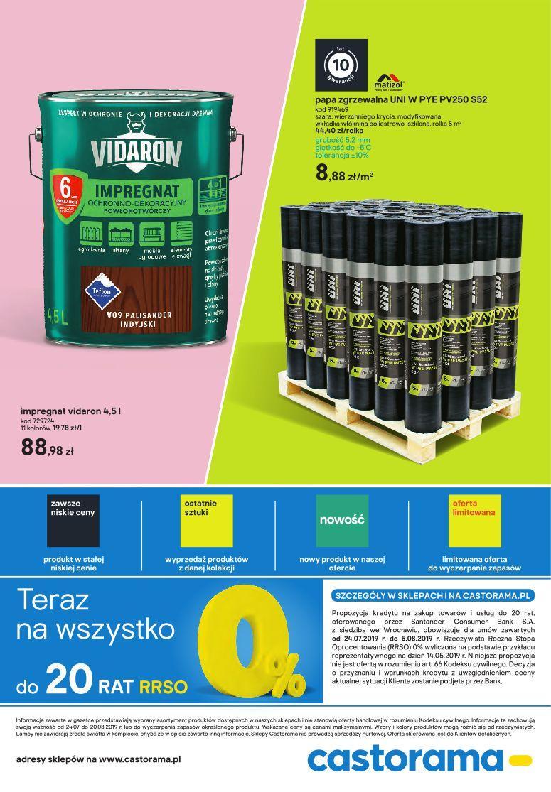 Gazetka promocyjna Castorama do 20/08/2019 str.8