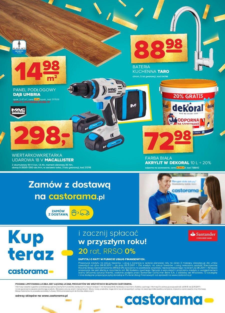 Gazetka promocyjna Castorama do 22/10/2017 str.15