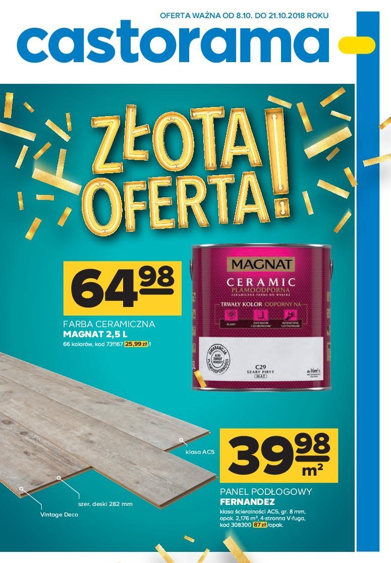 Gazetka promocyjna Castorama do 21/10/2018 str.0