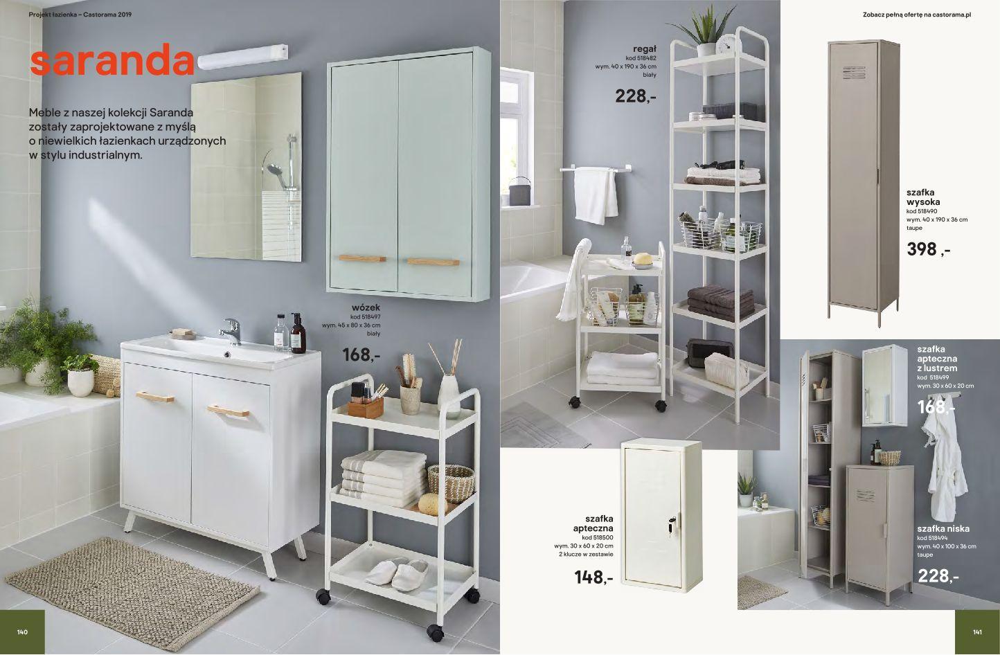 Gazetka Promocyjna I Reklamowa Castorama Katalog łazienki