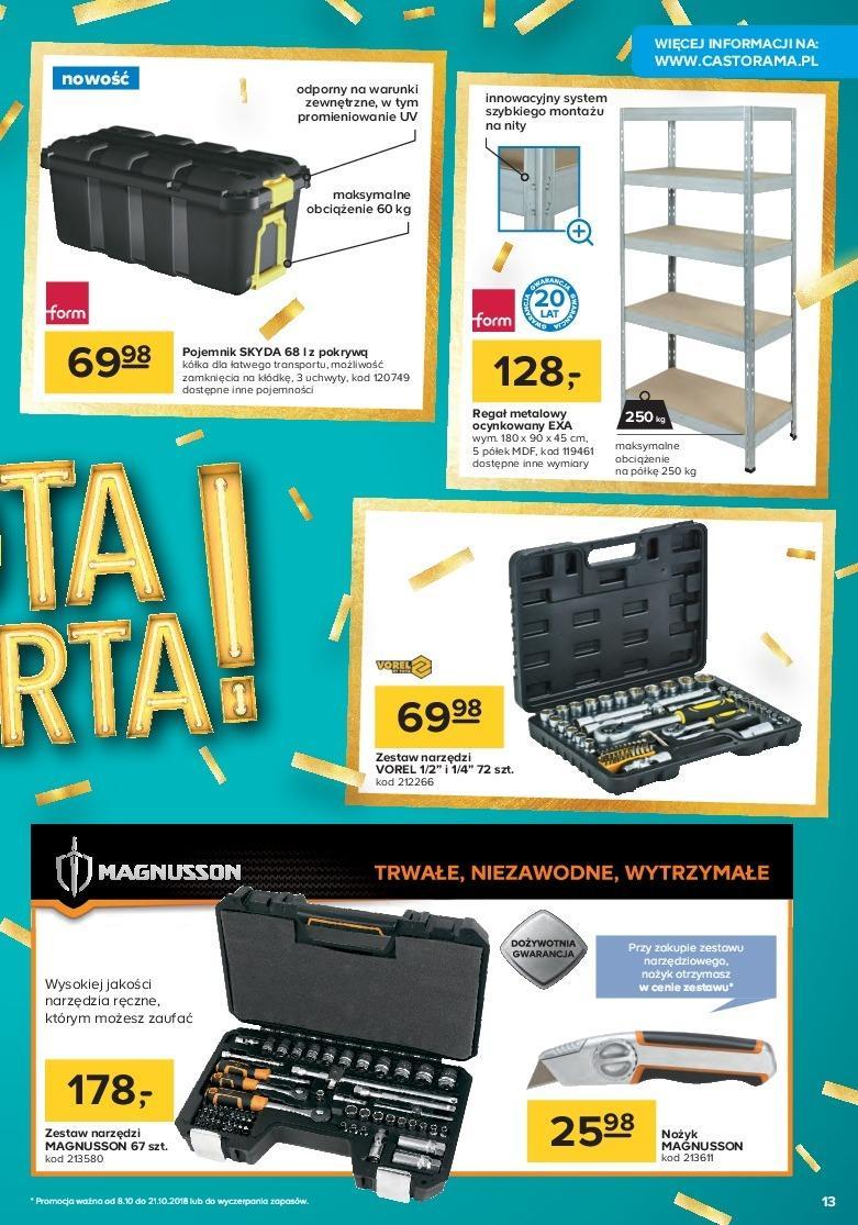 Gazetka promocyjna Castorama do 21/10/2018 str.12