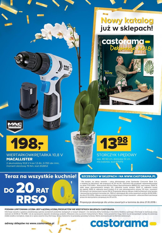 Gazetka promocyjna Castorama do 07/10/2018 str.15