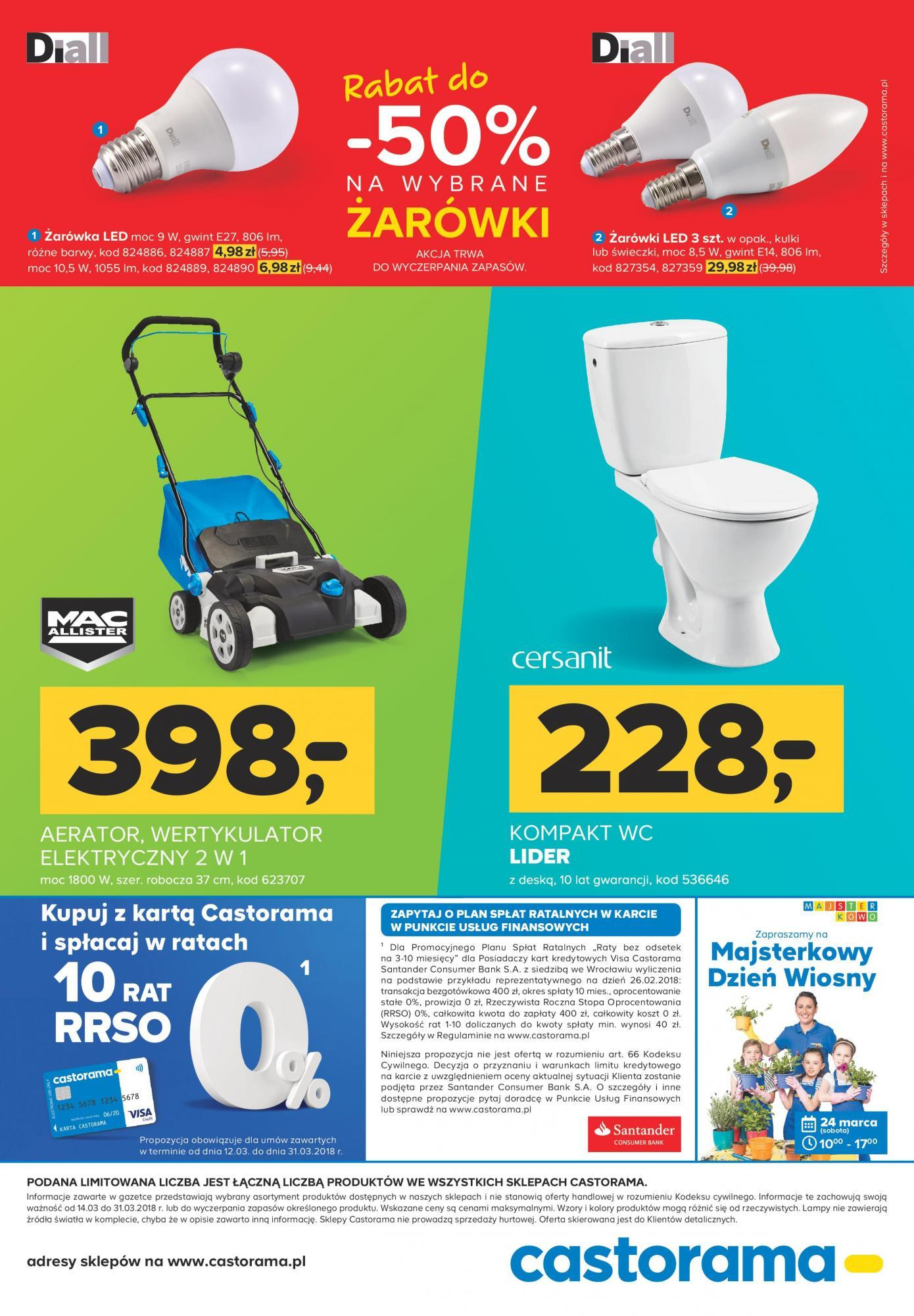 Gazetka promocyjna Castorama do 31/03/2018 str.11