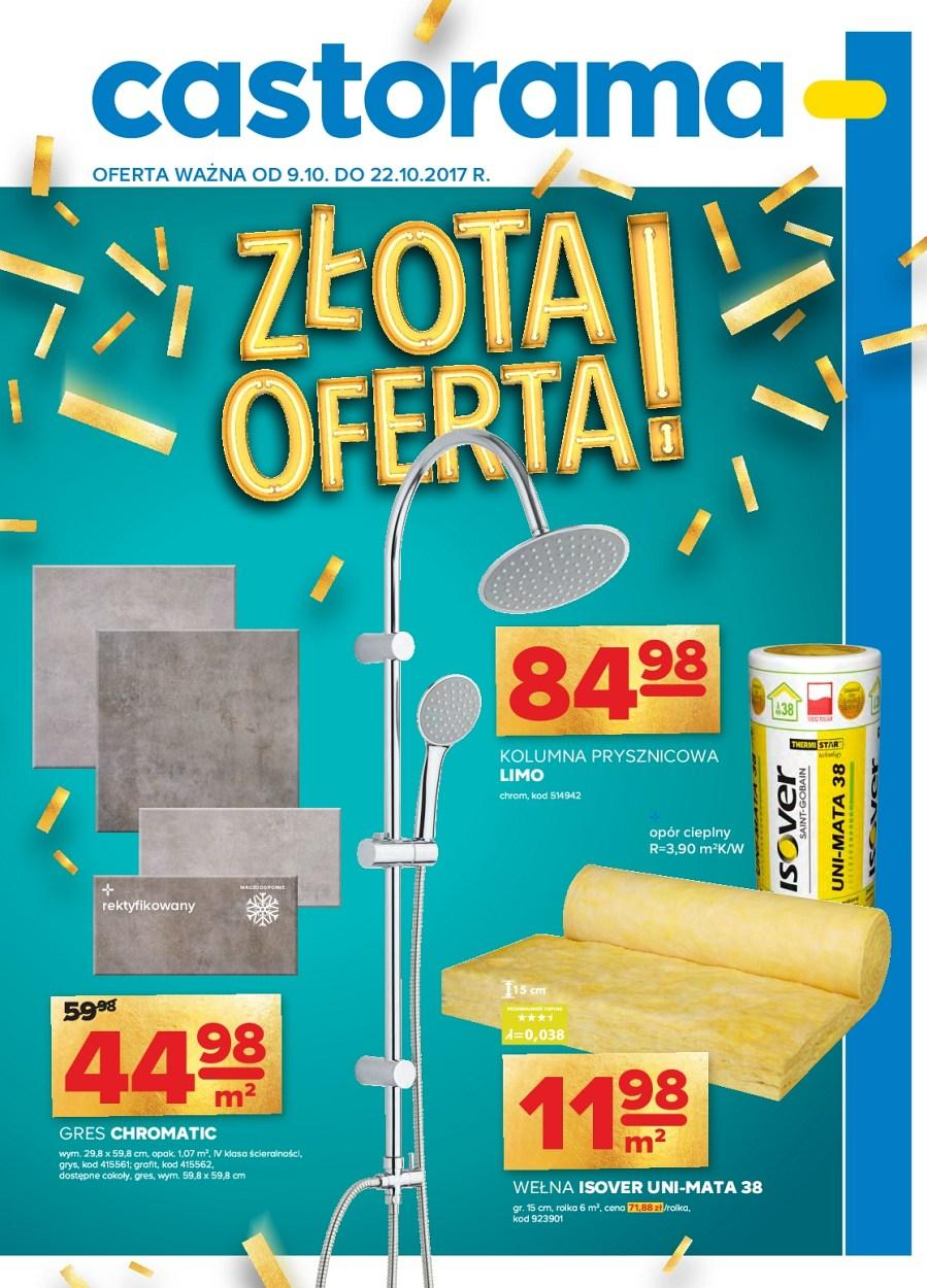 Gazetka promocyjna Castorama do 22/10/2017 str.0