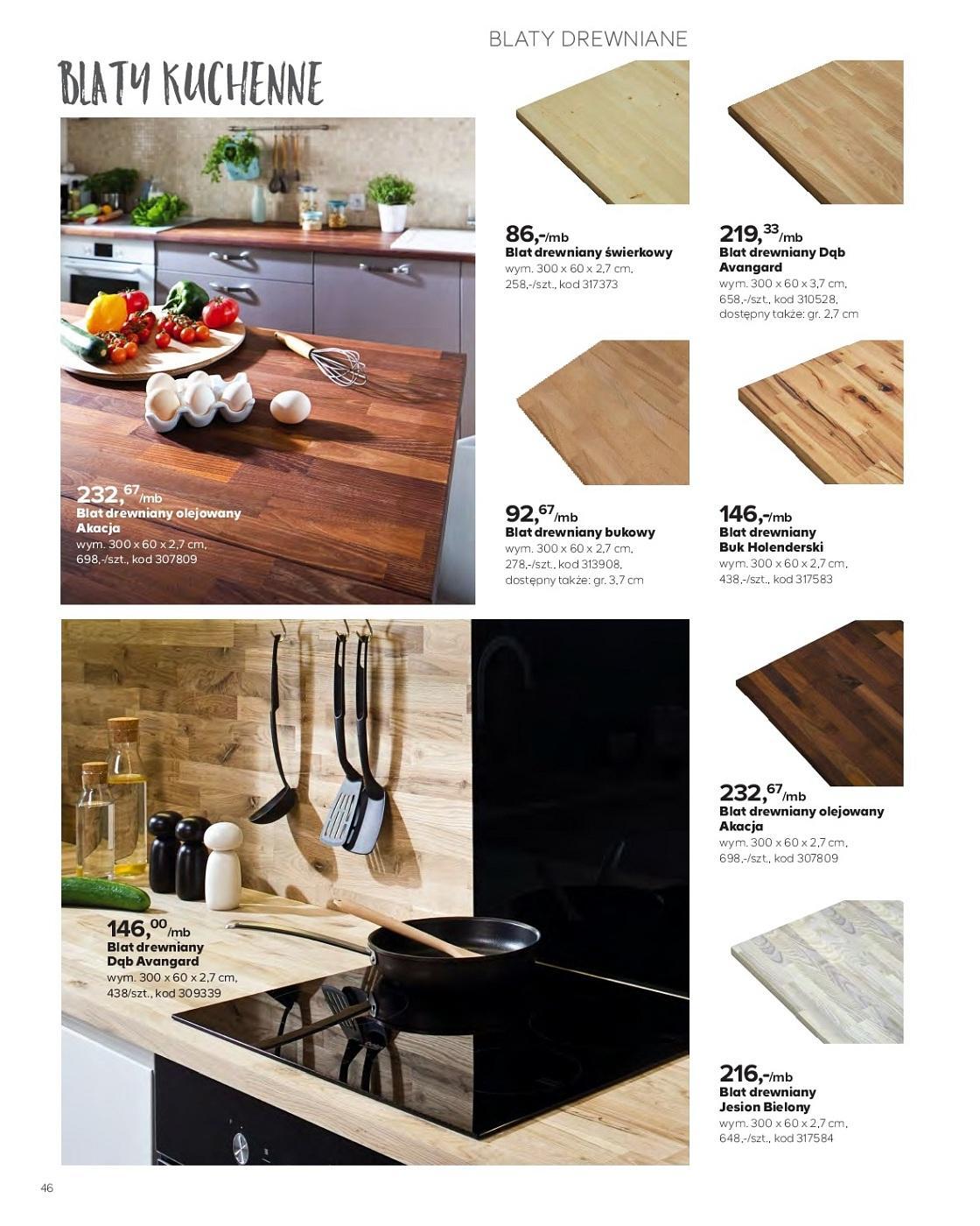 Gazetka Promocyjna I Reklamowa Castorama Katalog Kuchnie