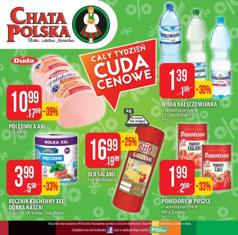 Gazetka promocyjna Chata Polska do 05/12/2018 str.8