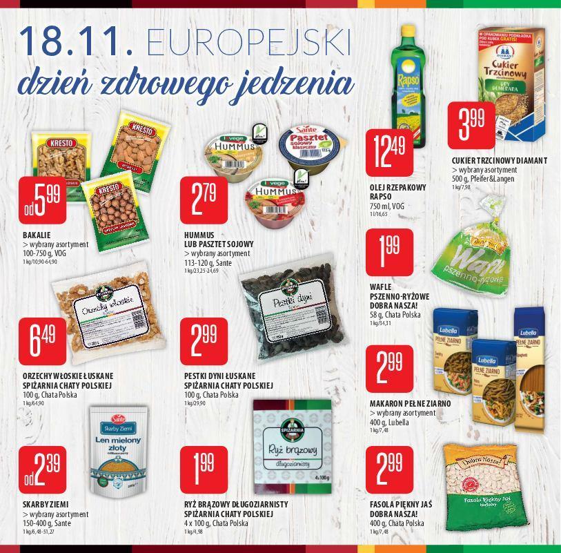 Gazetka promocyjna Chata Polska do 14/11/2018 str.4