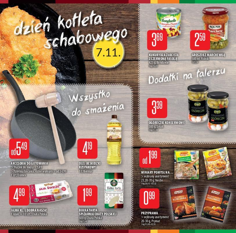 Gazetka promocyjna Chata Polska do 07/11/2018 str.4