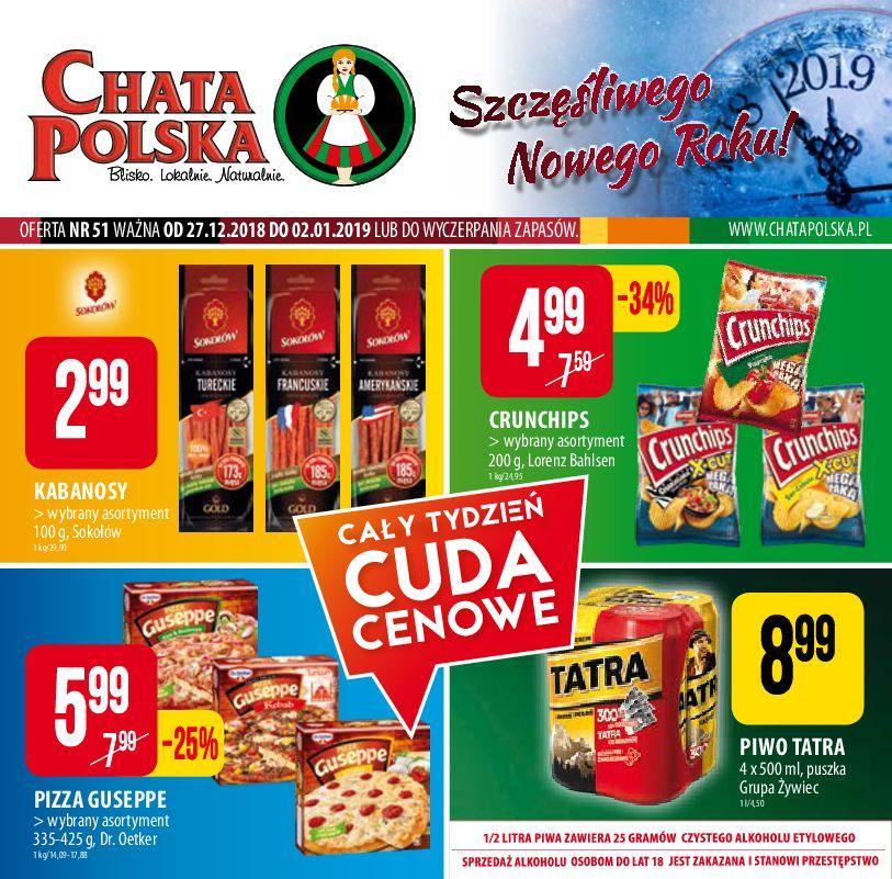 Gazetka promocyjna Chata Polska do 02/01/2019 str.0