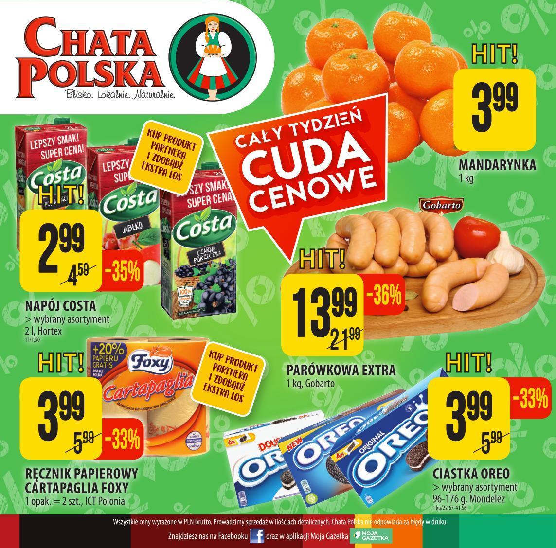 Gazetka promocyjna Chata Polska do 21/11/2018 str.7