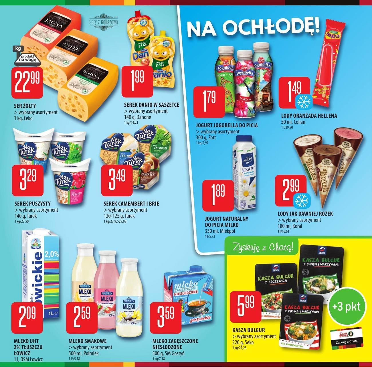 Gazetka promocyjna Chata Polska do 25/07/2018 str.2