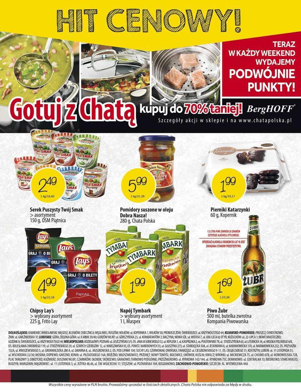 Gazetka promocyjna Chata Polska do 25/11/2015 str.11