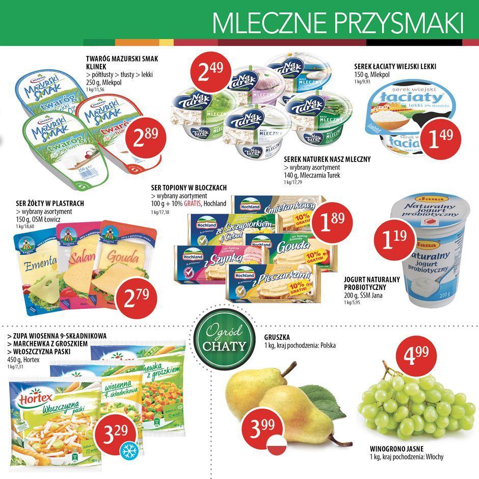 Gazetka promocyjna Chata Polska do 14/09/2016 str.2