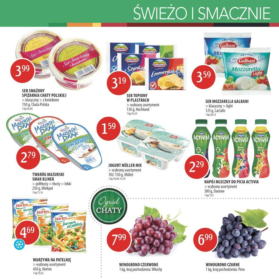 Gazetka promocyjna Chata Polska do 24/08/2016 str.2