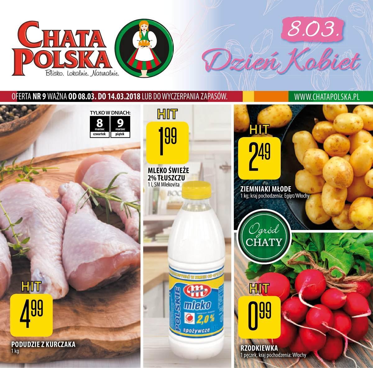Gazetka promocyjna Chata Polska do 14/03/2018 str.0